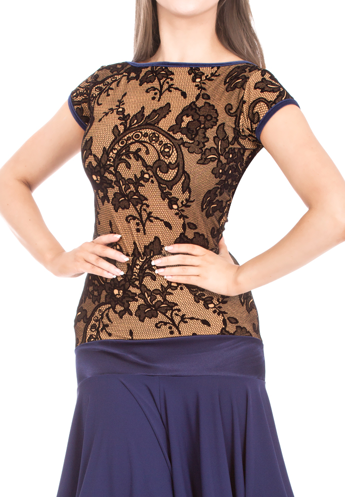 DSI Pearl Flock Latin Top 3599
