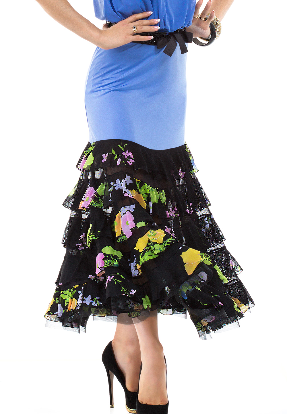 Espen Rosemary Ballroom Dance Skirt L3