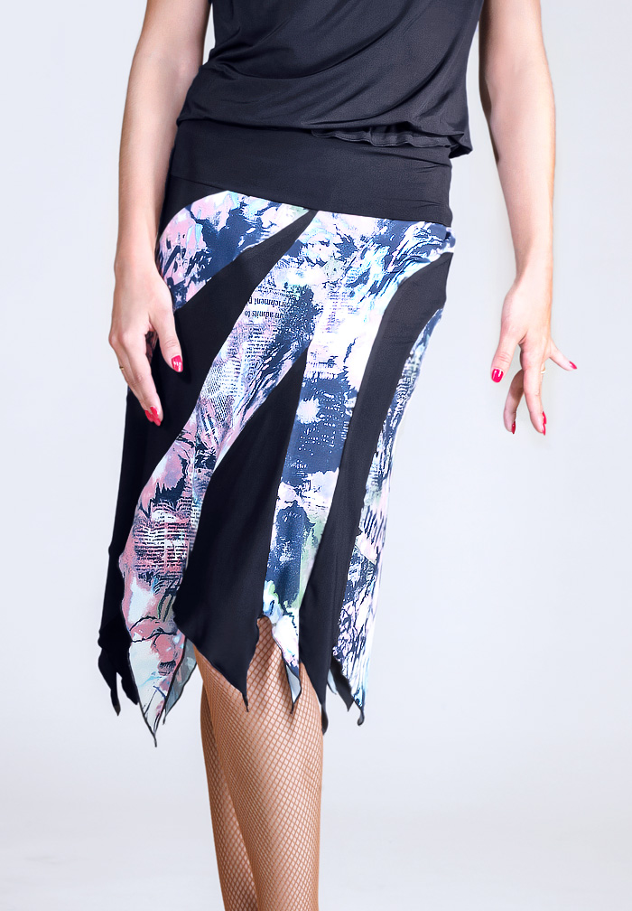 Santoria Juni Latin Dance Skirt S6068