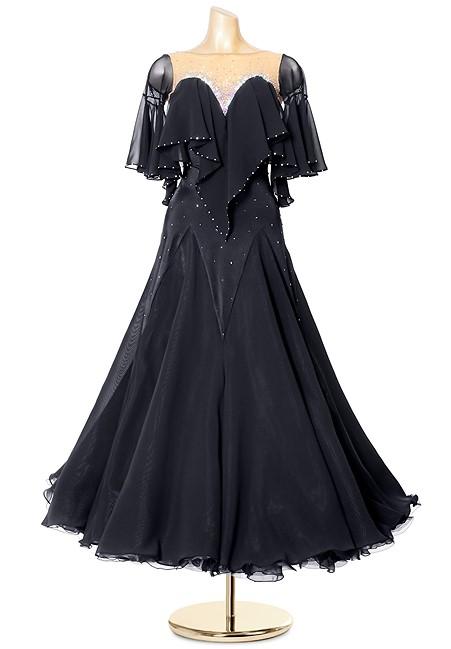 cbb09f513e49 Swingy Sweetheart American Smooth Dance Dress PCWB19058
