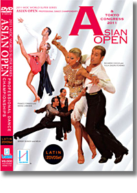 2011 Asian Open Professional Dance Championships - Latin