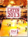 2013 Blackpool Dance Festival DVD - Professional Latin