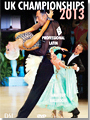 2013 UK Open Dance Championships DVD - Professional Latin & Amateur Ballroom(2 DVDs)