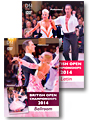 2014 Blackpool Dance Festival: The British Open Championships - Ballroom & Latin (2 DVDs)