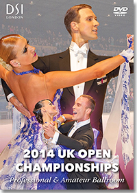 2014 UK Open Dance Championships DVD - Professional Ballroom & Amateur Ballroom (2 DVDs)
