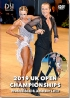 2019 UK Open Dance Championships DVD - Professional & Amateur Latin (2DVD)