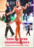 2020 UK Open Dance Championships DVD - Professional & Amateur Latin (2 DVD)