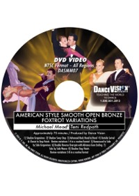 American Style Smooth Open Bronze Foxtrot Variations DASMM07