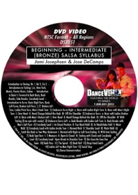 Beginning – Intermediate (Bronze) Salsa Syllabus DSJD51