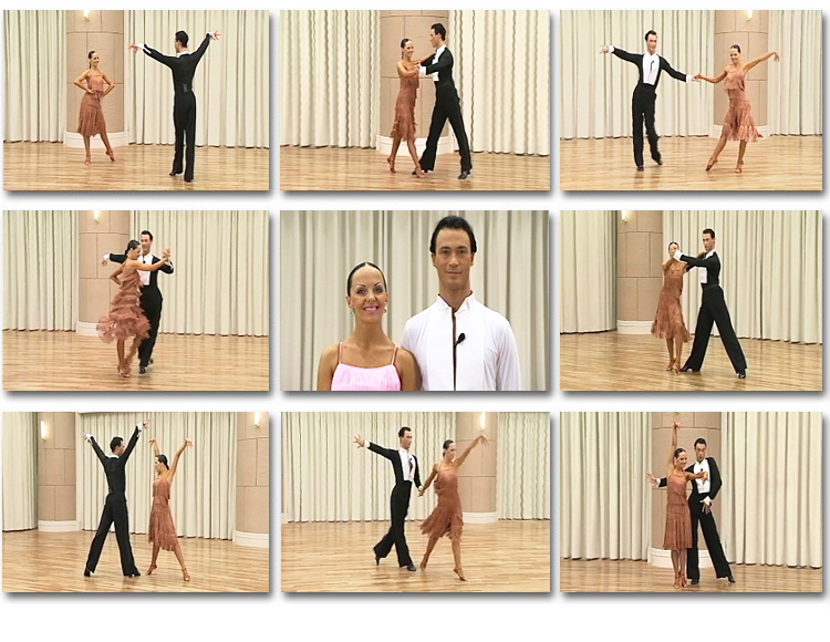 Flavour Of Latin Aa on Basic Two Step Dance Demonstration