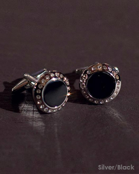 Chrisanne Cufflinks With Crystal