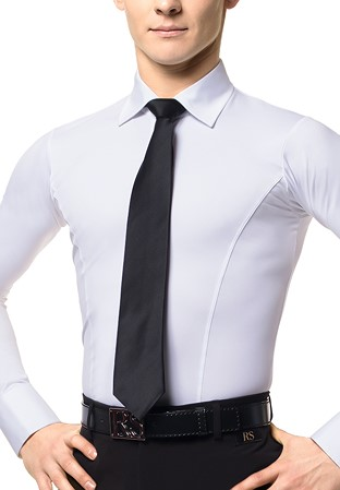 fb5fc3f31307 Mens Ballroom Zip Tie | Crystal Zip Tie | DanceShopper