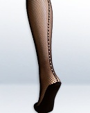Fishnet Tights Rhinestones - Capezio tights