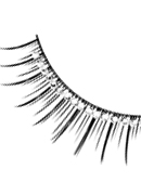Glamour - Black-White Rhinestone Eyelashes 571
