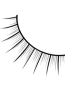 Natural Look - Black Deluxe Eyelashes 687