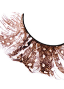 Paradise Dreams - Brown Feather Eyelashes 613