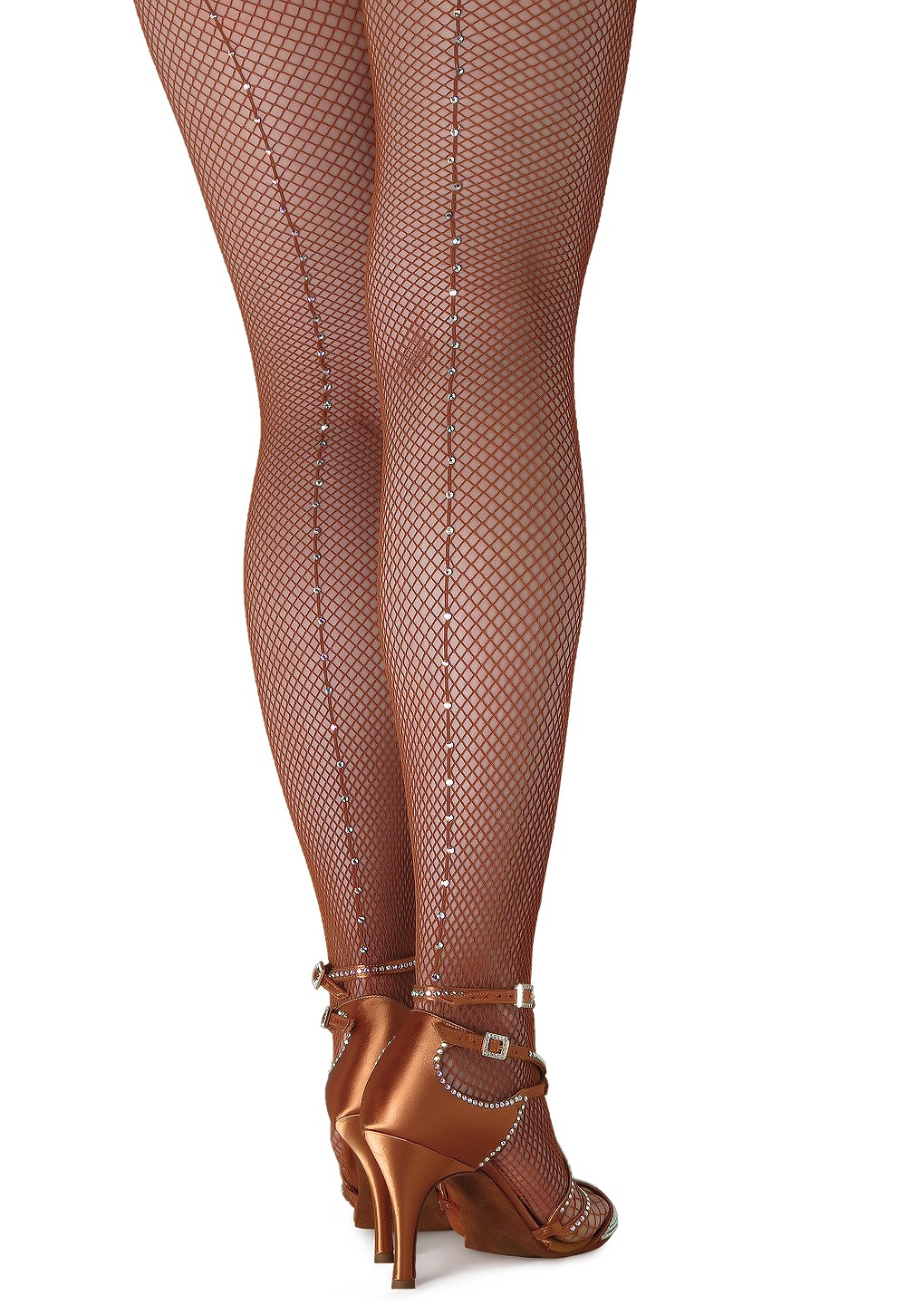 19cb68b69b305 Crystallized Fishnet Tights - Swarovski Rhinestones on Capezio Tight.  $34.95. 5 ...