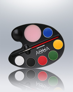 Aquacolor Artist 6 Color Tray 1106