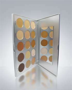 Kryolan High Definition Micro Foundation Cream 15 Color Palette 19115