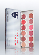Kryolan Lip Rouge 12 Colors Palette 1204