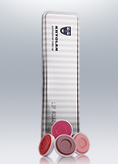 Kryolan Lip Rouge 6 Colors Palette 1207