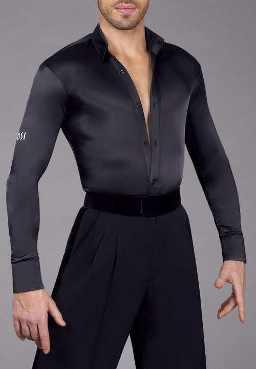 dc7ed1d31 DSI Satin Mens Latin Shirt |Dancewear