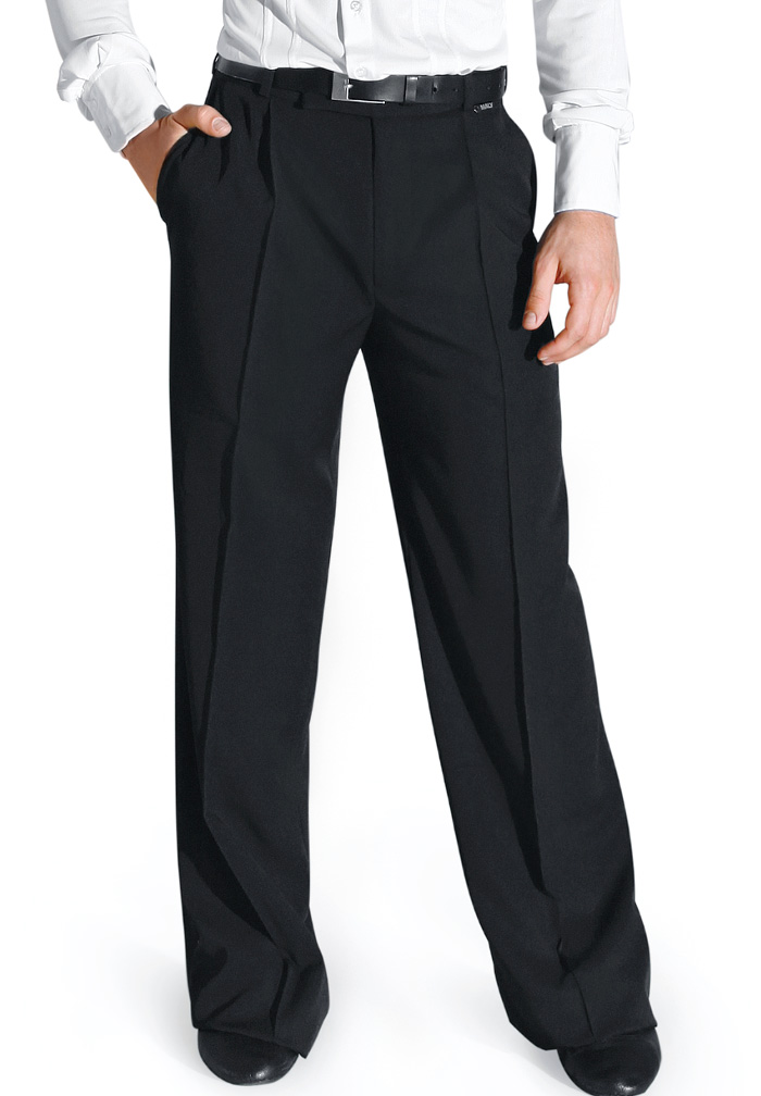Maly Mens Ballroom Trousers with Pockets MF62403