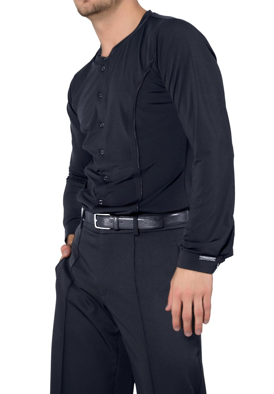 Maly Mens Shirt Without Collar Mf182202latin Shirt