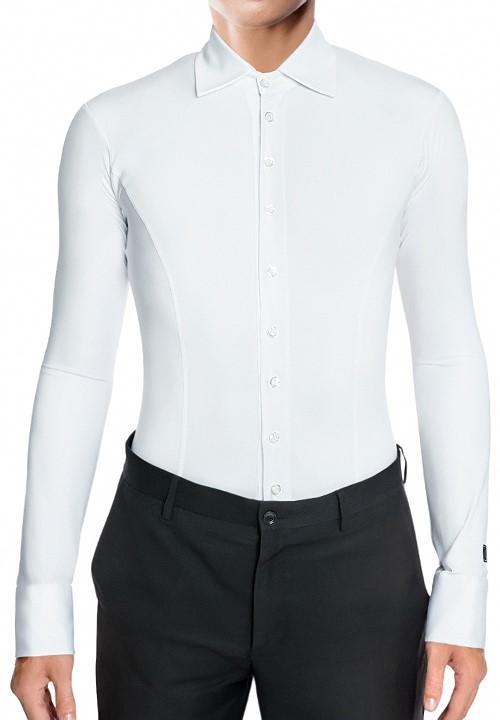 d8f0fd23d RS Atelier Mens Special Tight Stretch Body Shirt|Ballroom Shirt