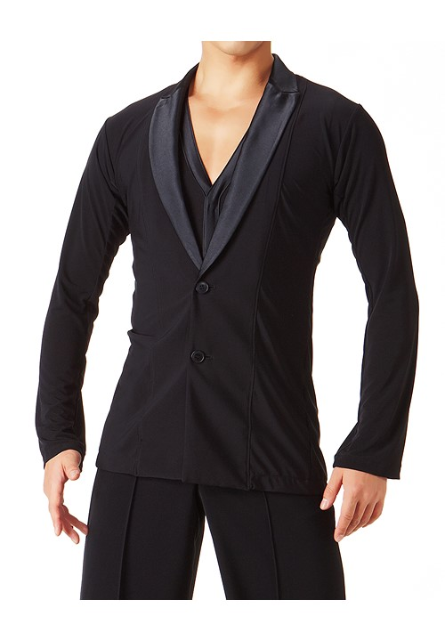 4ba86c36e Taka Mens Latin Dance Jacket MS218|Latin Shirt