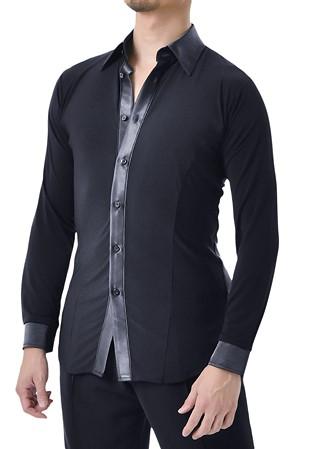 871bfb1af Mens Ballroom & Smooth Dance Shirt   Regular Ballroom Shirt ...