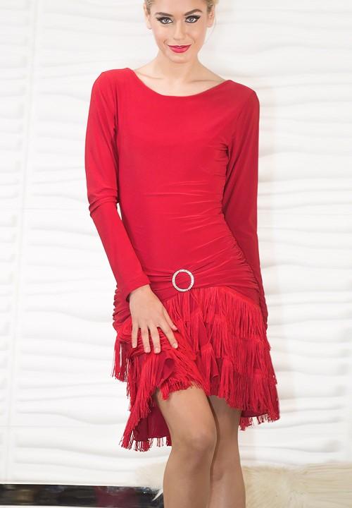 966e33d588230 Dance America D712 - Full Fringe Dress|Dresses