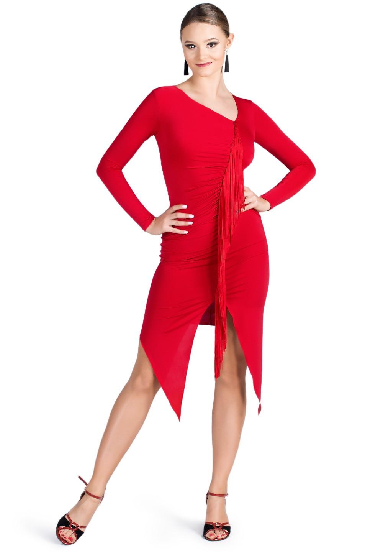f2b2b227c Dance Box Jackie O Fringe Latin Dress P19120019. $199.00 ~ $279.00. Free  shipping on orders overs $99. 5 ...