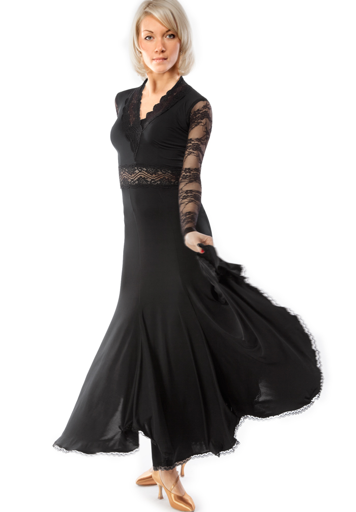 RS Atelier Mina Lace Ballroom Dance Dress