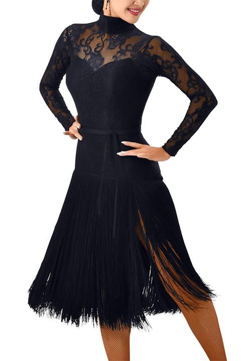 7408fe7ca700 Taka Sweetheart Fringed Latin Dress 3L-135|Dresses