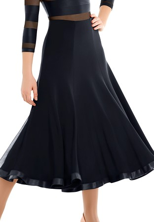 f47e04c6fefb Ballroom Skirt, Smooth Dance Skirt for Women | DanceShopper.com