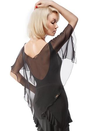 54799ce4a0 RS Atelier Ileana Geo Latin Body Shirt-Black