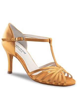 84feb4e2d0 Anna Kern 850-75 T-Bar Dance Shoes-Bronce Satin