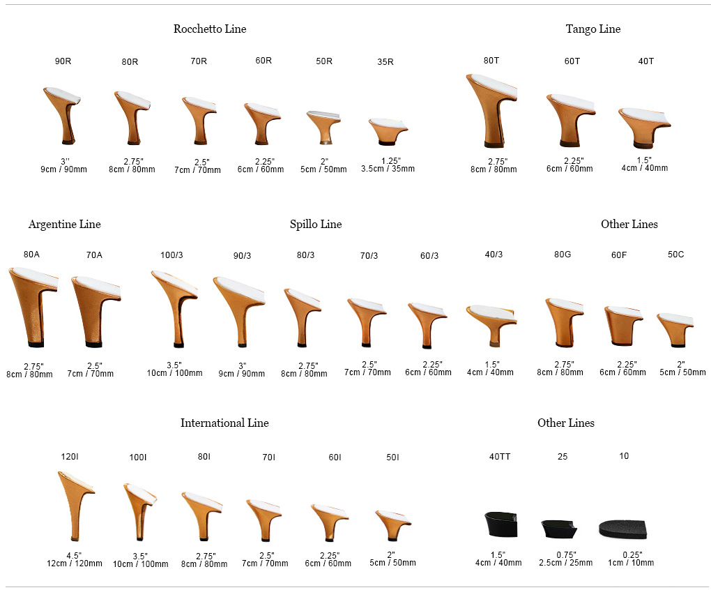 Due To Sizing Ing And Heels Vary Between Brands Please Refer This Chart As A General Guide Determine The Of Paoul Shoes